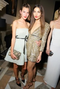 Alexa Chung and Lily Aldridge