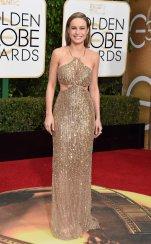 Brie Larson: vestido de Calvin Klein Collection y joyas de Tiffany & Co.