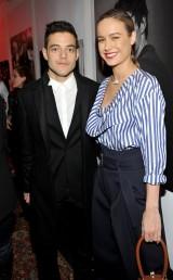 Rami Malek & Brie Larson